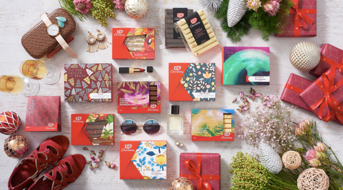KitKat Chocolatory launches world-first collection of reimagined Christmas favorites