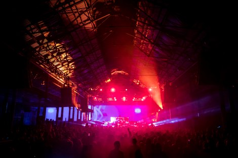Vivid Music 2018: Curve Ball, Carriageworks, June 16, 2018. Photo by Anna Kucera