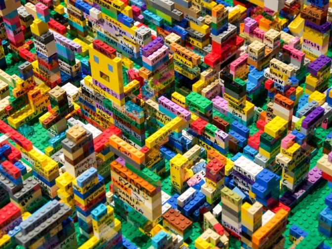 Dreamworld presents the LEGO Brickman Awesome exhibition