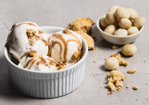Gelatissimo Golden Macadamia