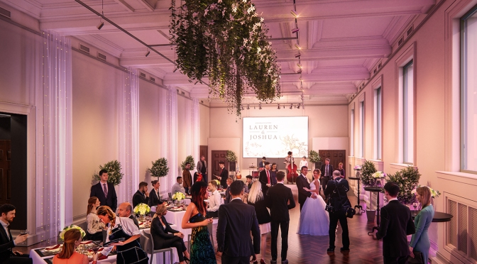 State Library, Victoria:  Their 2 new wedding venue spaces