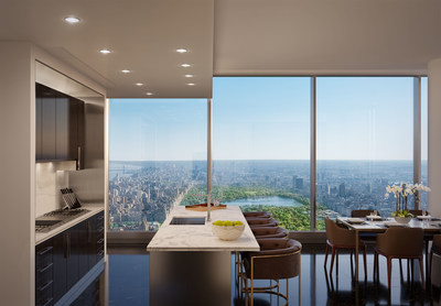 Central Park Tower Kitchen