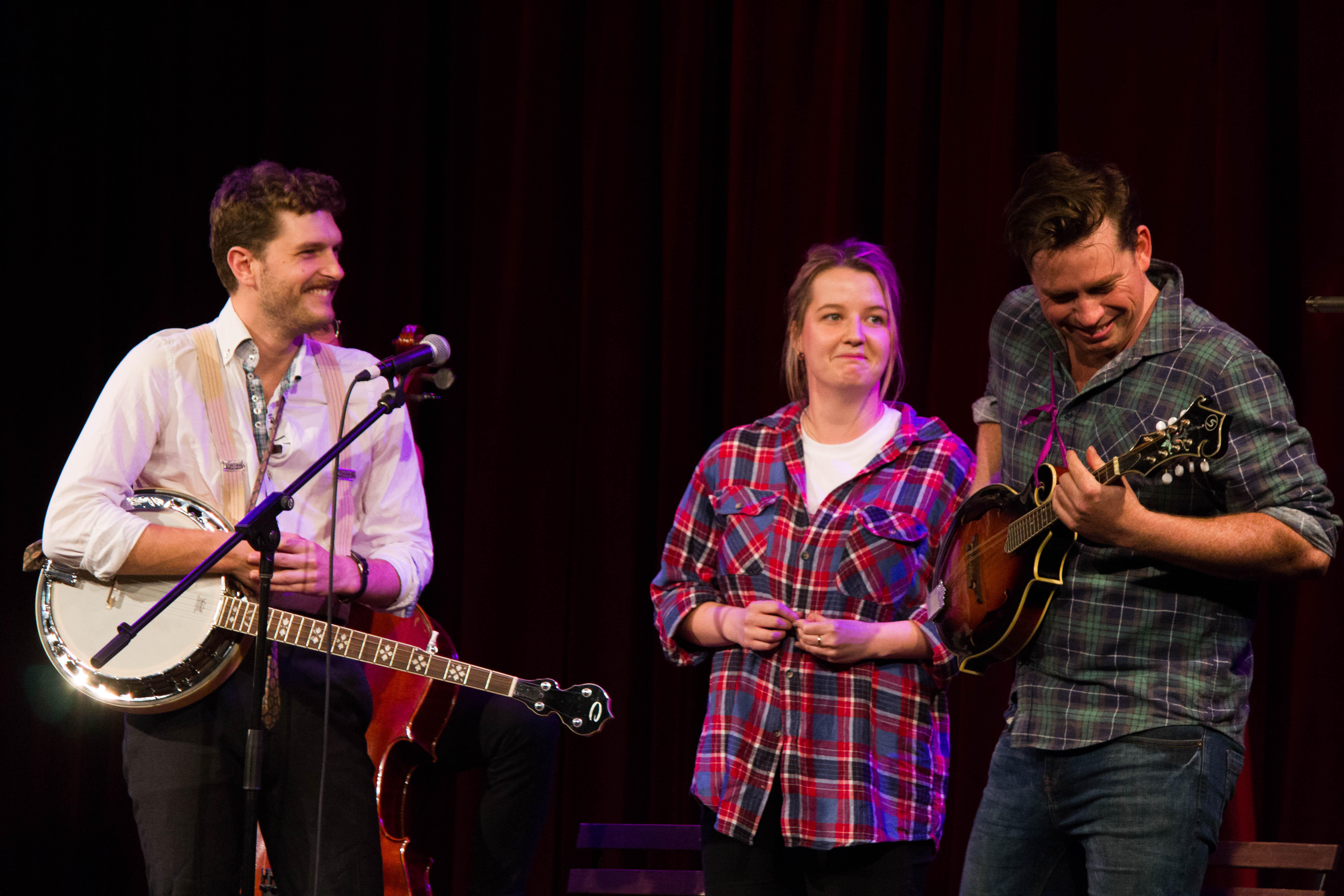 Carlo Ritchie (The Bear Pack) and recent ARIA award winners Bridie Connell and Wyatt Nixon-Lloyd perform in Plonk
