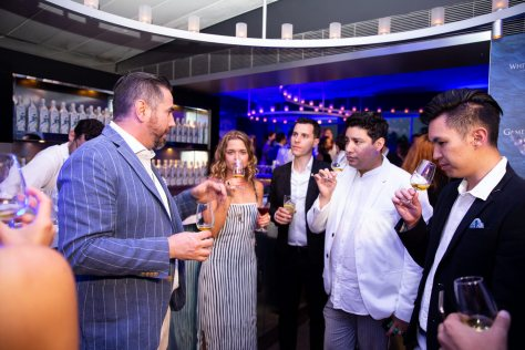 Simon McGoram Leads Tastings_White Walker by Johnnie Walker Launch Party_Icebergs Bar_Wed 5 Dec_Credit Yasmin Mund 20
