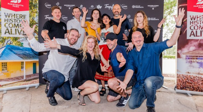 The 16 Finalists and their films competing for over $50,000 in prizes at Tropfest