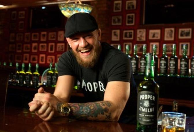 Conor McGregor's 'Proper No. 12 Irish Whiskey' now available in Australia!