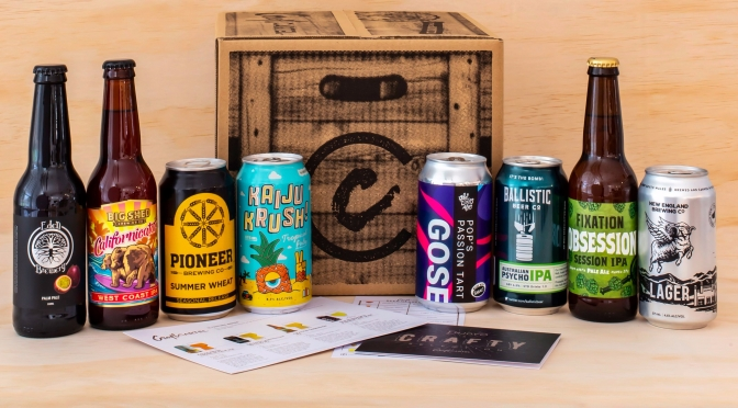 5 days left to grab your $1 case when signing up to the Craft Cartel's monthly beer club plan