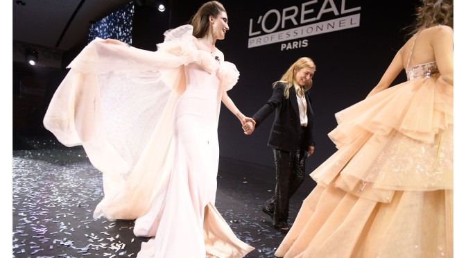 L'Oreal Professionnel 110th Anniversary Celebrations, Carrousel Du Louvre in Paris