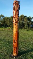 Carved Poles 4