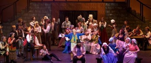 Les Mis cast Albatross Theatre supplied