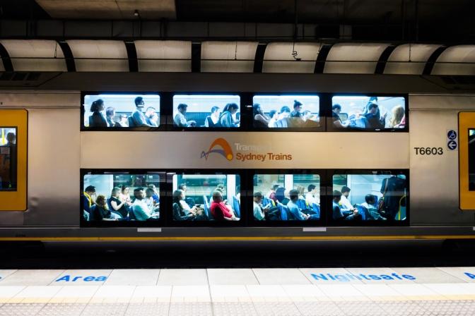 Reframed: The art exhibition pop-up across all Sydney Train public restrooms!