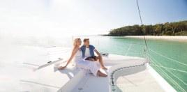 yacht on Jervis Bay