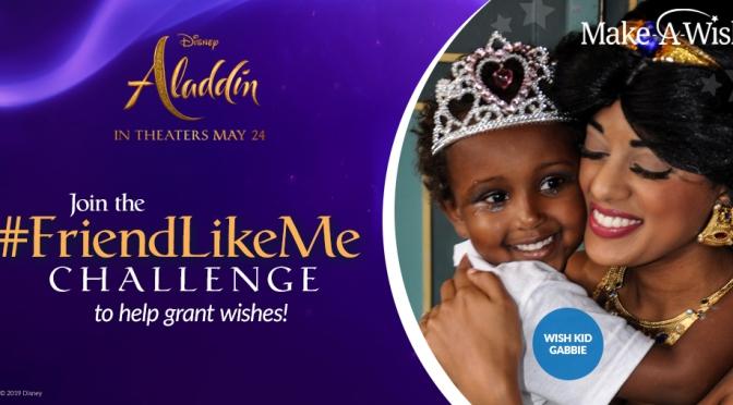 Aladdin in Cinemas today: #FriendLikeMe Challenge