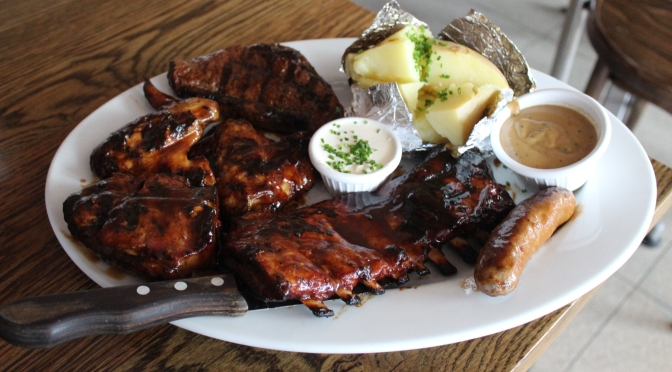 Dissecting and reliving the Hurricane's BBQ Meat Platter