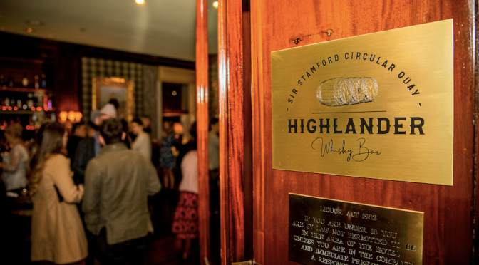 3 new whisky experiences at Highlander Bar – Sir Stamford, Circular Quay