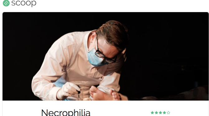 Necrophilia: Limelight on Oxford's new 2 week short-run comedy