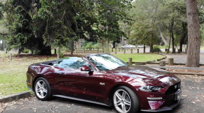 Ford Mustang GT Convertible 2019  Review