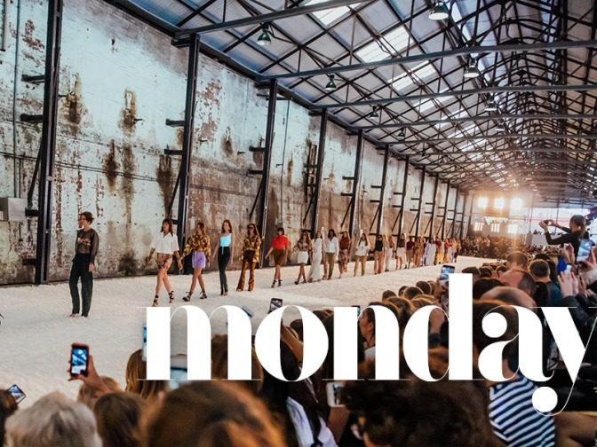 Highlights from the opening of Mercedes-Benz Fashion Week Australia