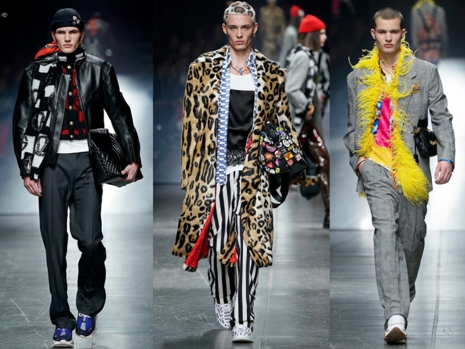 Versace Mens Collection: 5 essential trends to transition your Winter wardrobe this season