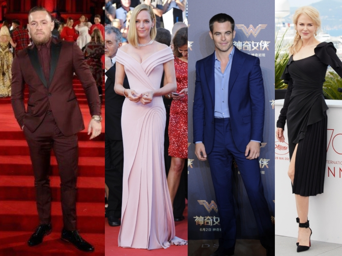 Versace on the Red Carpet:  A retrospect