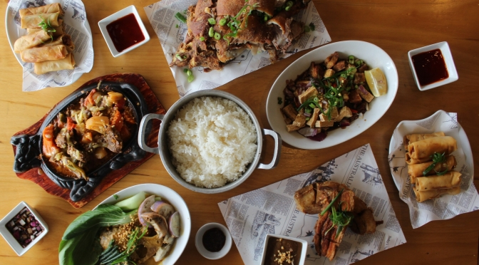 The origin of Filipino comfort food:  Hapag Kainan now under the management of Kasalos, Granville