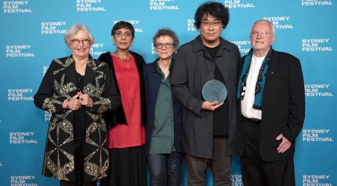 Parasite by Bong Joon-Ho takes home the Sydney Film Festival $60,000 prize