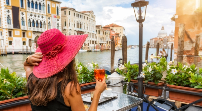 How the Veniceans celebrated 100 years of Aperol