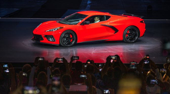 The Reveal: Holden's 2020 Chevrolet Corvette Stingray