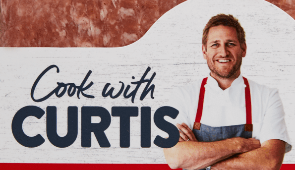 Mincing around with Curtis Stone