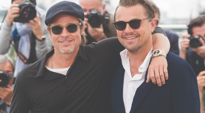 Breitling Cinema Squad member Brad Pitt at the 2019 Cannes Film Festival