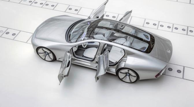 Mercedes-Benz Concept:  IAA – Intelligent Aerodynamic Automobile