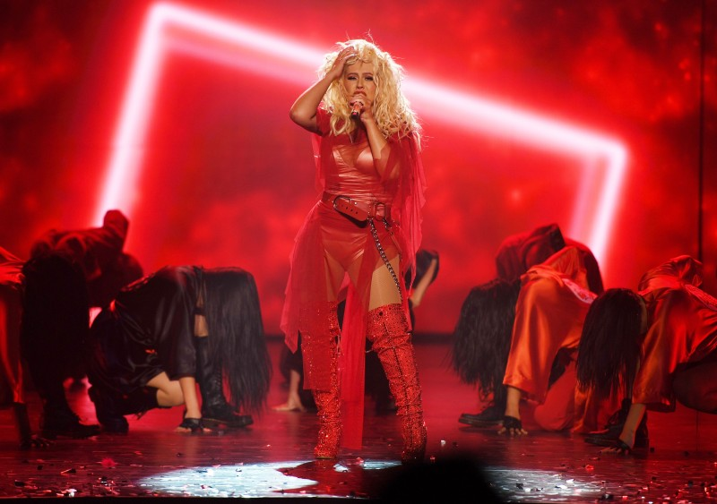 Christina Aguilera Celebrates Grand Opening Of Her New Las Vegas Show: THE XPERIENCE At Planet Hollywood Resort & Casino