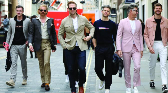 St. James London Fashion Week Men's Show