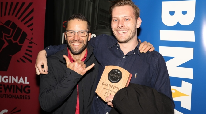 All Hands Brewing House wins 2 major categories and medals at the Independent Beer Awards 2019!