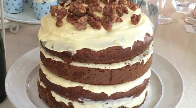 Carrot and Walnut Cake (Recipe)