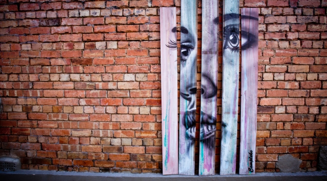 A Splash of colour: Walk the Walls Cronulla
