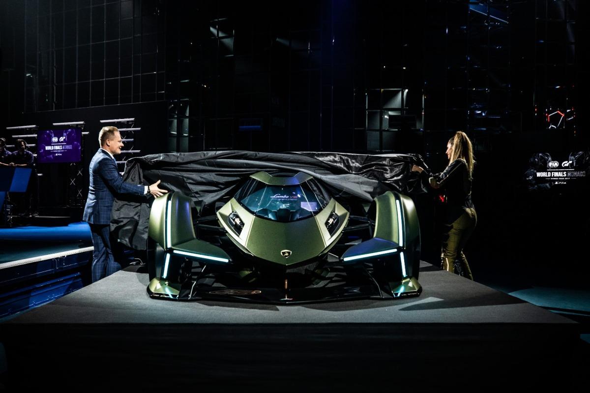 Lamborghini V12 Vision GT Concept - THE NEXT RUSH