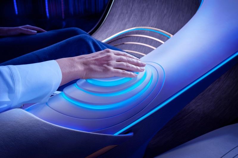 Inspiriert von der Zukunft: Das Mercedes-Benz VISION AVTR Inspired by the future: The Mercedes-Benz VISION AVTR